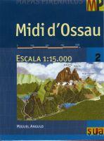 MIDI D'OSSAU 1:15.000 -MAPAS PIRENAICOS -SUA