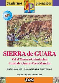 SIERRA DE GUARA [CAS] 1:25.000 - 1:50.000 -CUADERNOS PIRENAICOS -SUA