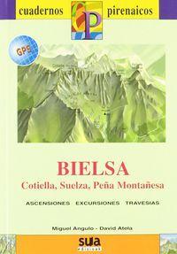 BIELSA [CAS] 1:25.000 - 1:50.000 -CUADERNOS PIRENAICOS -SUA