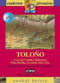 TOLOÑO [CAS] 1:25.000 - 1:50.000 -CUADERNOS PIRENAICOS - EUSKAL HERRIA -SUA