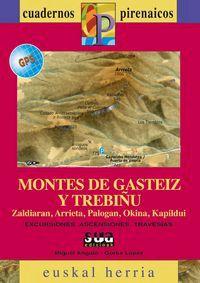 MONTES DE GASTEIZ Y TREBIÑU -CUADERNOS PIRENAICOS. EUSKAL HERRIA -SUA