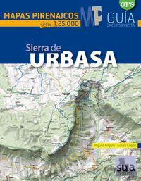 SIERRA DE URBASA 1:25.000 -MAPAS PIRENAICOS -SUA