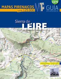 SIERRA DE LEIRE 1:25.000 -MAPAS PIRENAICOS -SUA