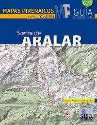 ARALAR 1:25.000, SIERRA DE -MAPAS PIRENAICOS -SUA