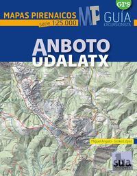 ANBOTO UDALATX 1:25.000 -MAPAS PIRENAICOS -SUA