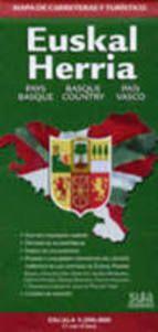 EUSKAL HERRIA 1:200.000 MAPA DE CARRETERAS Y TURISMO -SUA