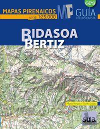 BIDASOA 1:25.000 BERTIZ -MAPAS PIRENAICOS -SUA