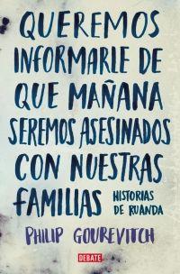 QUEREMOS INFORMARLE DE QUE MAÑANA SEREMOS ASESINADOS CON NUESTRAS FAMILIA