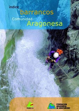 INDICE DE BARRANCOS DE LA COMUNIDAD ARAGONESA -PRAMES