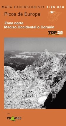 PICOS DE EUROPA (NORTE Y CORNION) 1:25.000 -TOP 25 PRAMES