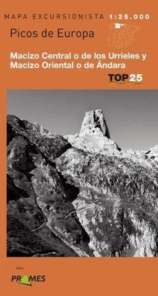 PICOS DE EUROPA (URRIELES Y ÁNDARA) 1:25.000 -TOP 25 PRAMES