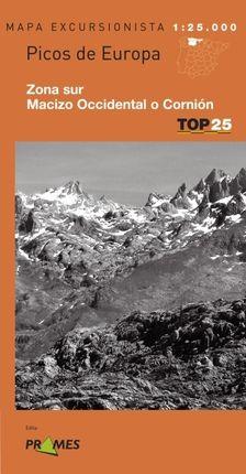 PICOS DE EUROPA (SUR Y CORNION) 1:25.000 -TOP 25 PRAMES