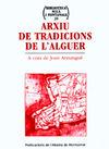 ARXIU DE TRADICIONS DE L'ALGUER