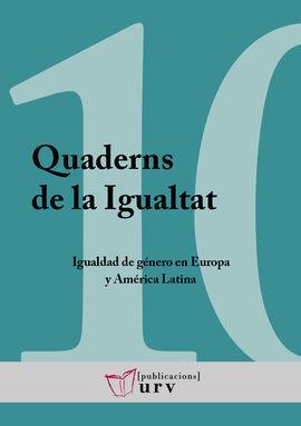10. QUADERNS DE LA IGUALTAT