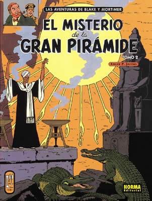 (TOMO II) MISTERIO DE LA GRAN PIRAMIDE, EL -NORMA [COMIC]