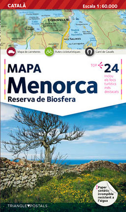 MAPA MENORCA [CAT] 1:60.000 -TRIANGLE