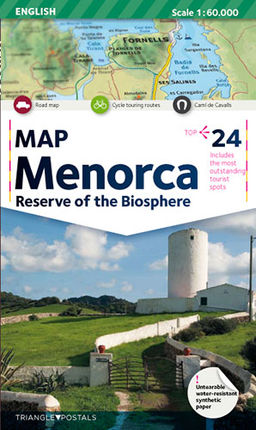 MENORCA 1:60.000 RESERVE OF THE BIOSPHERE -TRIANGLE