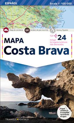 COSTA BRAVA (CAS) 1:100.000 -TRIANGLE POSTALS