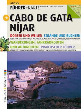 CABO DE GATA. NIJAR [DEU] -FUHRER+KARTE