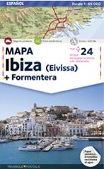 IBIZA 1:65.000 [CAS] MAPA EIVISSA + FORMENTERA -TRIANGLE