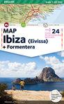 IBIZA 1:65.000 [ENG] MAP EIVISSA + FORMENTERA -TRIANGLE