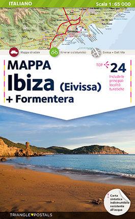 IBIZA 1:65.000 [ITA] MAPPA EIVISSA + FORMENTERA -TRIANGLE