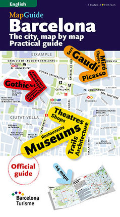 BARCELONA MAP GUIDE [ENG] -TRIANGLE POSTALS