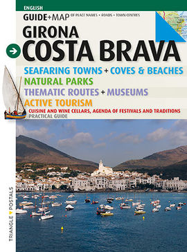 COSTA BRAVA. GIRONA [ENG] GUIDE + MAP