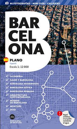 BARCELONA. PLANO [ESP] 1:12.000 -TRIANGLE POSTALS
