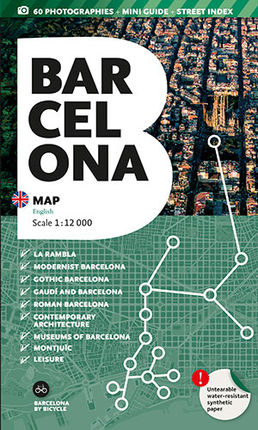 BARCELONA. MAP [ENG] 1:12.000 -TRIANGLE POSTALS