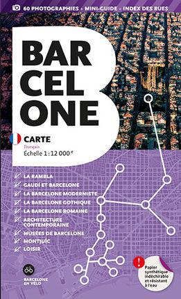 BARCELONA. CARTE [FRA] 1:12.000 -TRIANGLE POSTALS