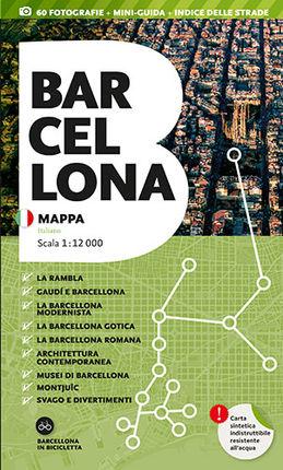 BARCELONA. MAPPA [ITA] 1:12.000 -TRIANGLE POSTALS