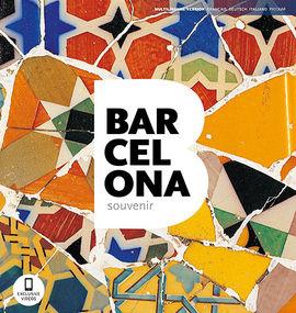 BARCELONA SOUVENIR [FRA / DEU / ITA / RUS] -TRIANGLE POSTALS