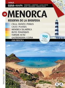 MENORCA [CAT] RESERVA DE BIOSFERA. GUIA + MAPA