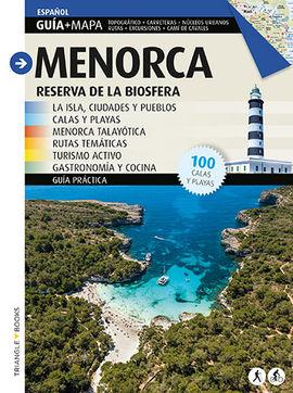 MENORCA [CAS]. RESERVA DE BIOSFERA. GUIA + MAPA. CALAS Y PLAYAS.