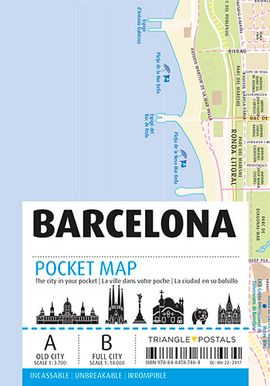 BARCELONA. POCKET MAP