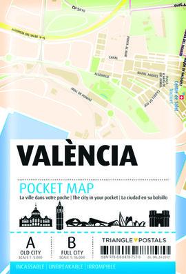 VALENCIA. POCKET MAP