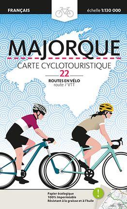 MAJORQUE [FRA] CARTE CYCLOTOURISTIQUE -TRIANGLE