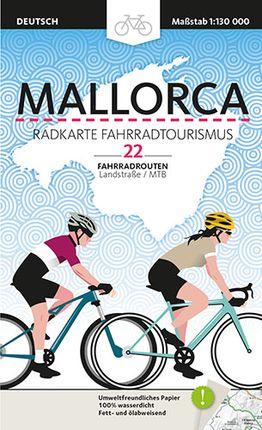MALLORCA [ALE] RADKARTE FAHRRADTOURISMUS -TRIANGLE