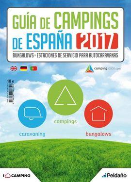 GUÍA DE CAMPINGS DE ESPAÑA 2017