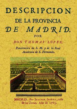 DESCRIPCION PROVINCIA MADRID