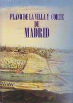 PLANO DE LA VILLA Y CORTE DE MADRID