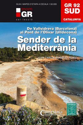 GR 92. SUD SENDER DE LA MEDITERRÀNIA -ALPINA