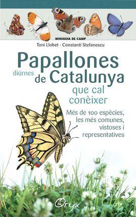 PAPALLONES DIÜRNES DE CATALUNYA QUE CAL CONÈIXER [ACORDIO] -MINIGUIA DE CAMP -ORYX