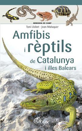 AMFIBIS I RÈPTILS DE CATALUNYA [ACORDIO] -MINIGUIA DE CAMP -ORYX