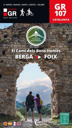 GR 107 EL CAMÍ DELS BONS HOMES [6 MAPES 1:50.000] -ALPINA