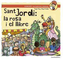 SANT JORDI: LA ROSA I EL LLIBRE