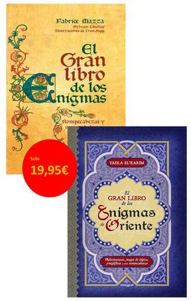 [PACK] EL GRAN LIBRO DE LOS ENIGMAS / DE ORIENTE