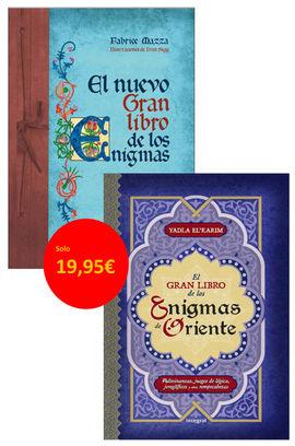 [PACK] EL NUEVO GRAN LIBRO DE LOS ENIGMAS / DE ORIENTE
