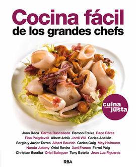 COCINA FACIL DE LOS GRANDES CHEFS